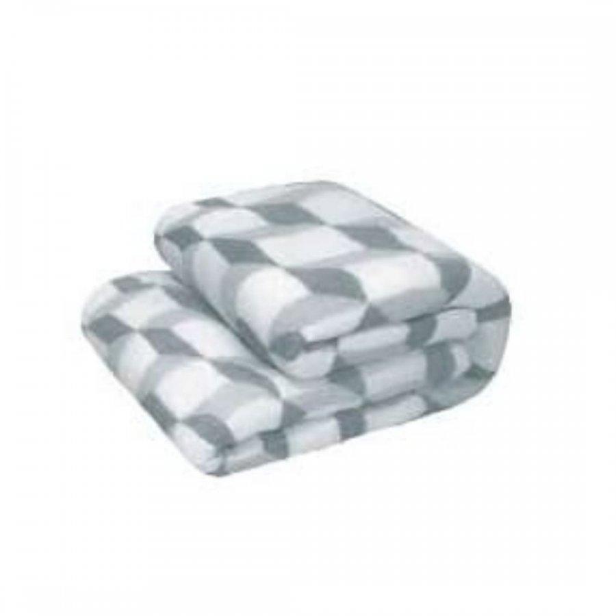 Cobertor Microfibra Solteiro REMIX   CUBOS