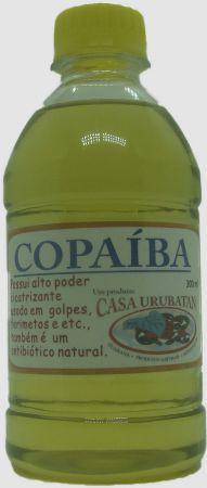 ÓLEO DE COPAIBA Óleo de copaíba 300ml