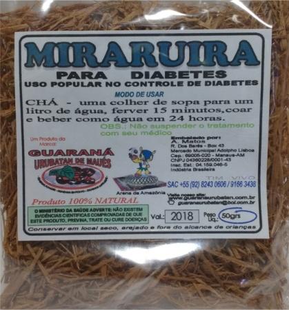 MIRARUIRA EM RAMA - 50g