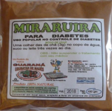 MIRARUIRA EM PÓ - 100g
