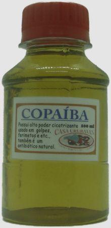 COPAIBA ESCURA - óleo de copaíba escura 100ml