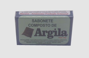 SABONETE DE ARGILA - 50g
