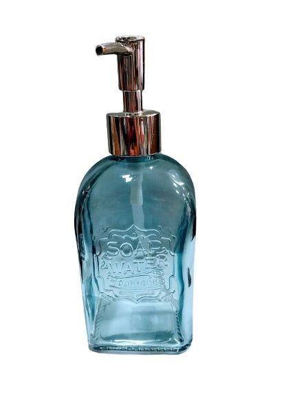 Saboneteira liquida azul