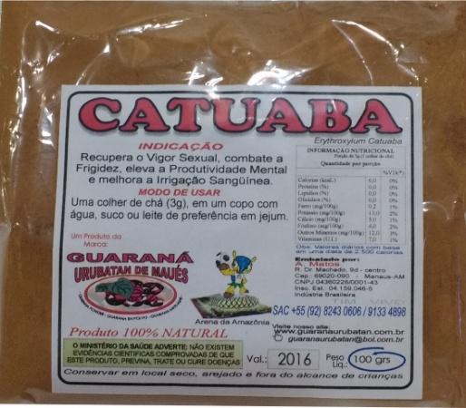 CATUABA EM PÓ - 100g