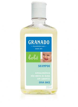 Shampoo Granado Bebe Erva Doce 250ml