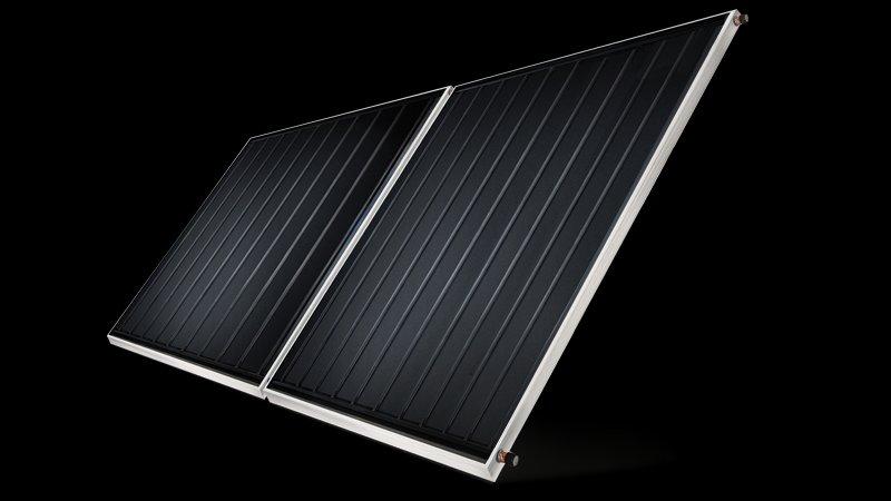 Placa Coletor Solar Linha Princess Cobre Komeco