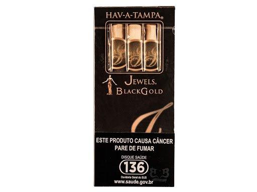 Cigarrilha Jewels Black Gold