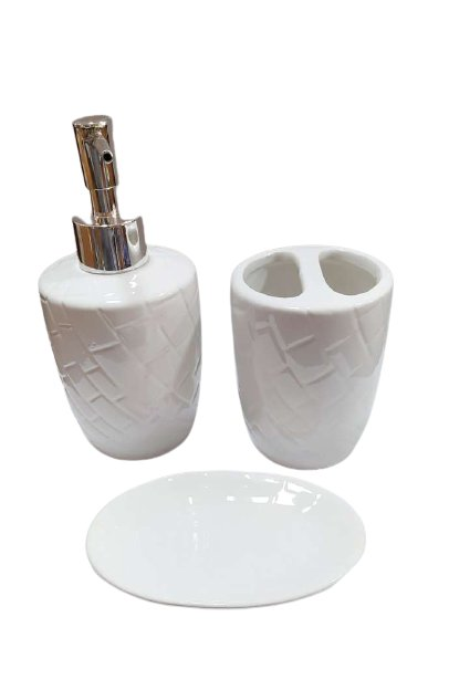Conjunto Banheiro cerâmica